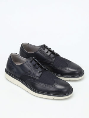 Hogan: trainers online - H322 leather derby shoes