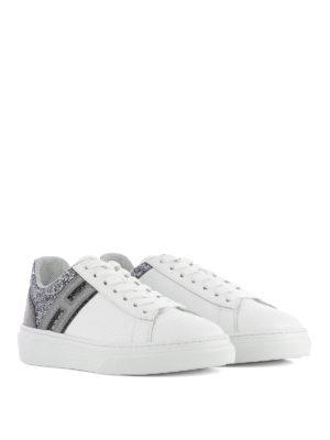 Hogan: trainers online - H340 embellished back sneakers