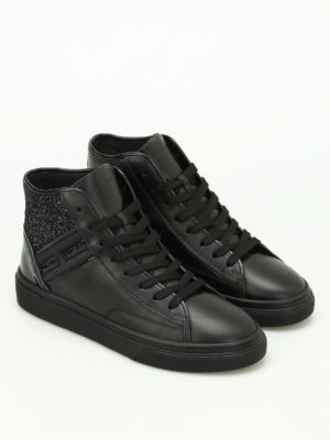 Hogan: trainers online - H340 glitter low top sneakers
