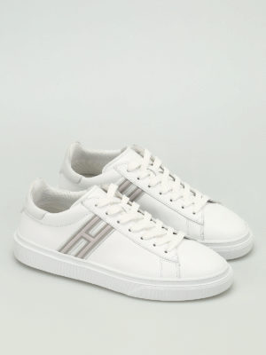 Hogan: trainers online - H340 leather low top trainers