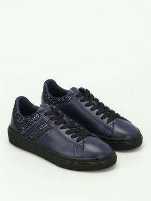 Hogan: trainers online - H340 low top glitter sneakers