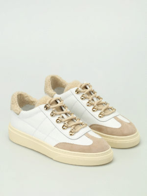 Hogan: trainers online - H340 low top leather sneakers