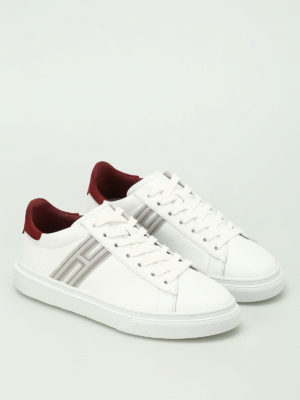 Hogan: trainers online - H340 low top white sneakers