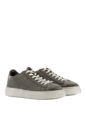 Hogan: trainers online - H340 vintage effect sneakers