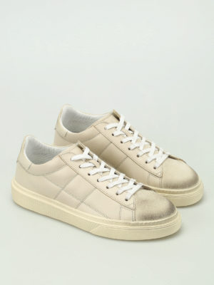 Hogan: trainers online - H340 vintage leather sneakers