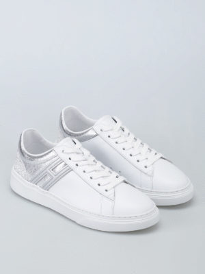 Hogan: trainers online - H365 two-tone leather sneakers