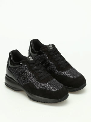 Hogan: trainers online - Interactive 3D with sequins