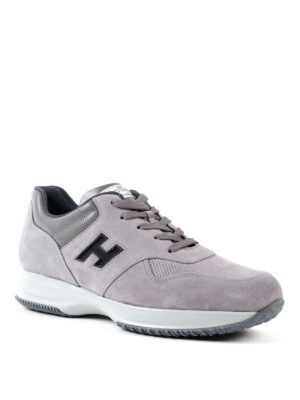 Hogan: trainers online - Interactive contrasting H sneakers