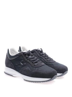 Hogan: trainers online - Interactive dark blue sneakers
