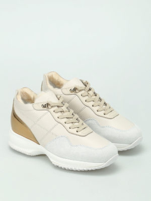 Hogan: trainers online - Interactive faux fur lined sneakers