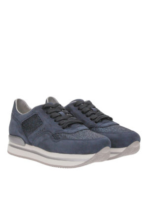 Hogan: trainers online - Interactive lurex sneakers