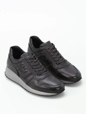 Hogan: trainers online - Interactive N20 dark grey sneakers