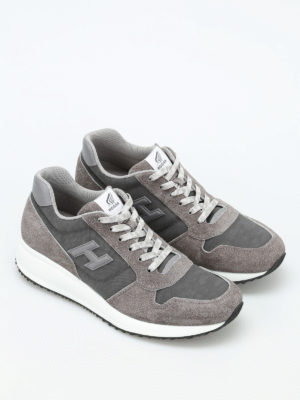 Hogan: trainers online - Interactive N20 fabric sneakers
