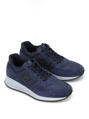 Hogan: trainers online - Interactive N20 H 3D suede trainers