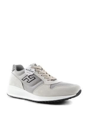 Hogan: trainers online - Interactive N20 H Flock sneakers
