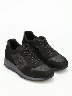 Hogan: trainers online - Interactive N20 nubuck sneakers