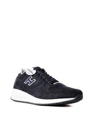 Hogan: trainers online - Interactive N20 suede sneakers