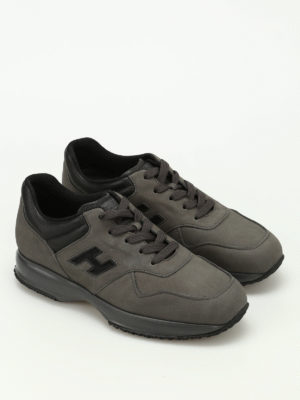 Hogan: trainers online - Interactive nubuck sneakers