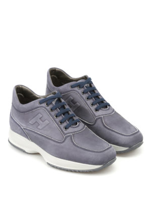 Hogan: trainers online - Interactive soft leather sneakers