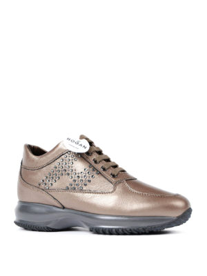Hogan: trainers online - Interactive strass H sneakers