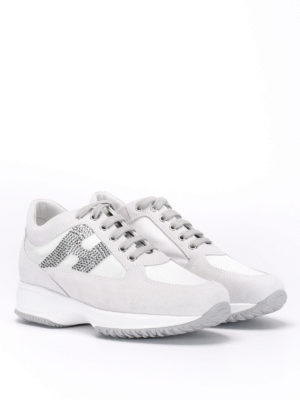 Hogan: trainers online - Interactive strass sneakers