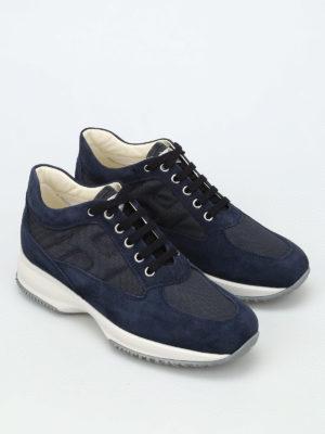 Hogan: trainers online - Interactive suede sneakers