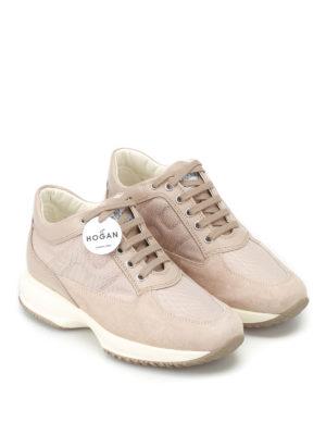Hogan: trainers online - Interactive tonal H sneakers