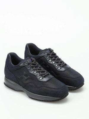 Hogan: trainers online - Interactive Trekking blue sneakers
