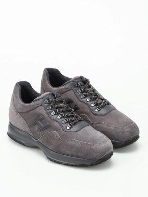 Hogan: trainers online - Interactive Trekking grey sneakers
