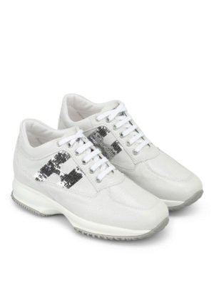 Hogan: trainers online - Interactive white sneakers