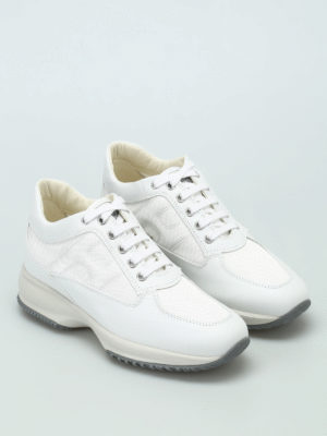Hogan: trainers online - Leather and fabric Interactive