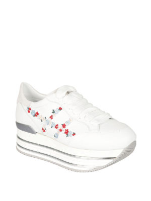 Hogan: trainers online - Maxi H222 flowers H sneakers