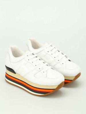Hogan: trainers online - Maxi H283 multicolour sole sneakers