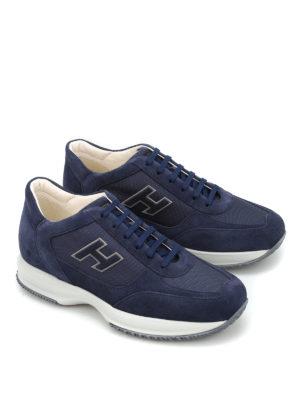 Hogan: trainers online - New Interactive H Flock sneakers