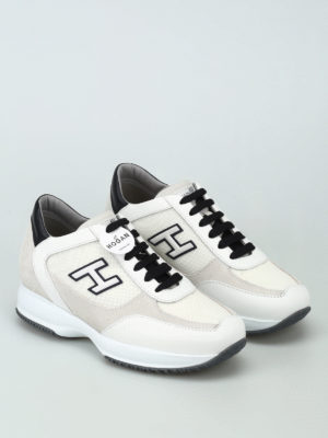 Hogan: trainers online - New Interactive leather sneakers