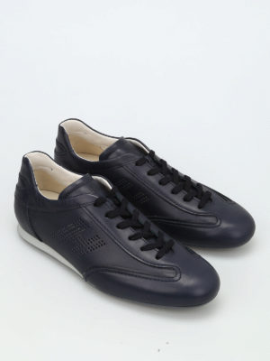 Hogan: trainers online - Olympia leather sneakers