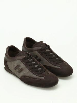 Hogan: trainers online - Olympia Slash brown sneakers