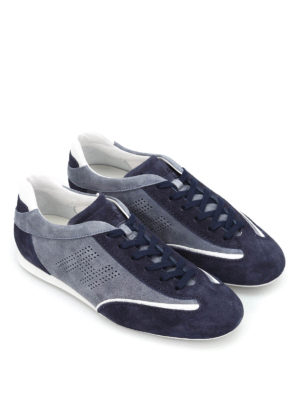 Hogan: trainers online - Olympia suede sneakers