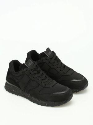 Hogan: trainers online - R261 black running sneakers
