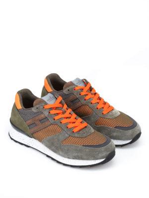 Hogan: trainers online - R261 fluo mesh sneakers