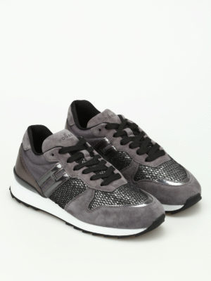 Hogan: trainers online - R261 multifabric running shoes