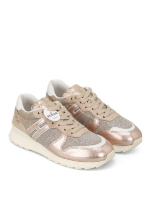 Hogan: trainers online - R261 shimmering sneakers