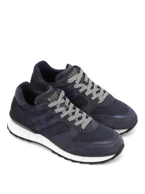 Hogan: trainers online - R261 tech fabric low top sneakers