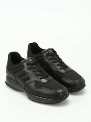 Hogan: trainers online - Total black Interactive sneakers