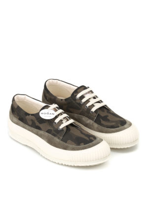 Hogan: trainers online - Traditional H258 camu sneakers