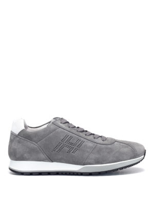 Hogan: trainers - Perforated H H321 sneakers