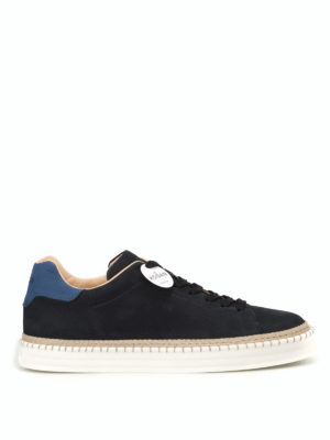 Hogan: trainers - R260 blue leather sneakers