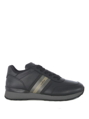 HOGAN: sneakers - Sneaker R261 in pelle nera