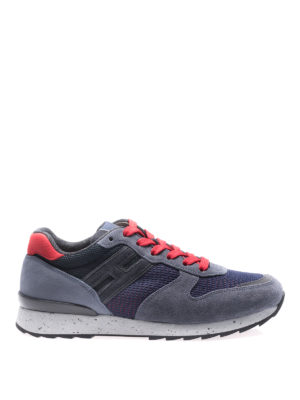 Hogan: trainers - R261 lace-up sneakers