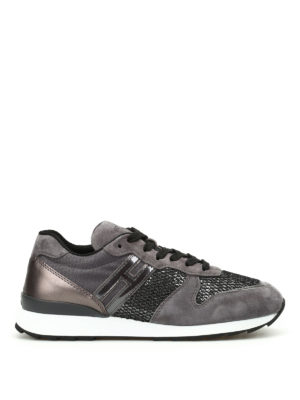 Hogan: trainers - R261 multifabric running shoes